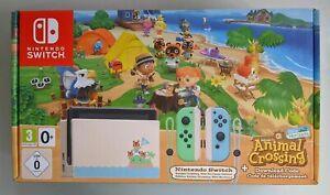 Nintendo Switch Console Animal Crossing Edition / Brand ...