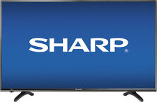 "Open-Box Certified: Sharp - 40"" Class (40"" Diag.) - LED - 1080p - HDTV - Black"