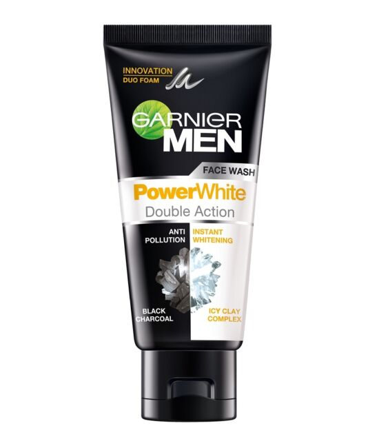 0ca5180802 Garnier Men Power White Double Action Face Wash 50g Anti-Pollution Instant  White