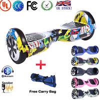 7 Colors 2 Wheel Self-balancing Scooter Electric Bluetooth Board Scooter+handbag