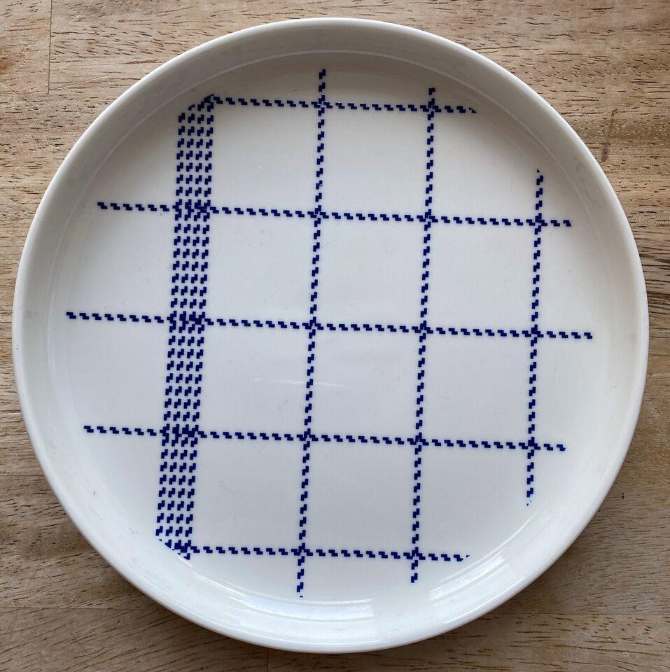 Porcelæn, Tallerken, Normann