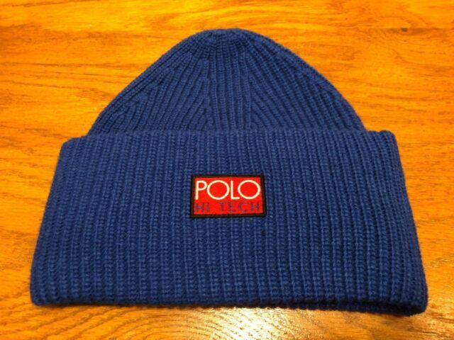 Polo Ralph Lauren Hi Tech Hat Royal Cap Skully Beanie for sale ... d45614eef6c0