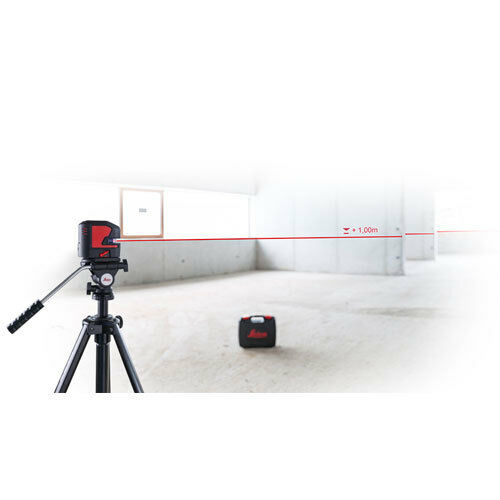 Cross Line Laser Level Leica Lino L2 Lithium Rechargeable Batteries