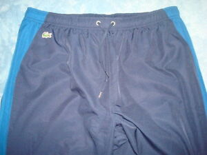 LACOSTE-GRAY-WARMUP-PANTS-SIZE-6-LRG