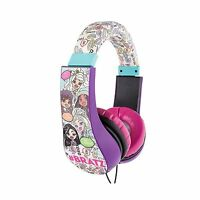 Bratz Hp2-04034-khl Kid Friendly Headphones Bratz Free Shipping