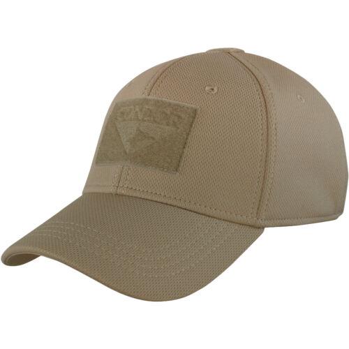 Condor Flex Baseball Cap Mens Outdoor Airsoft Hat Tactical Military Patrol Brown