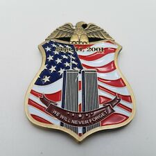 FBI Federal Bureau of Investigation Twin Towers Special Agent Badge Challenge Cn