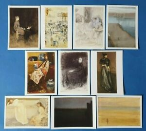 Set-of-10-Brand-New-Art-Postcards-The-James-McNeill-Whistler-Collection