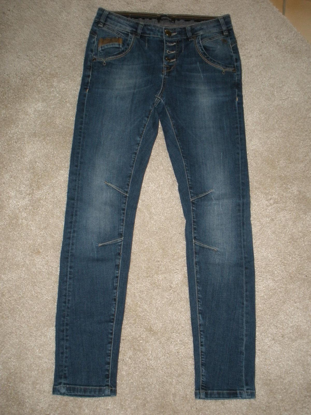 Genuine Crop braun 8 Größe Hose Jill J Fit damen Leg Wide