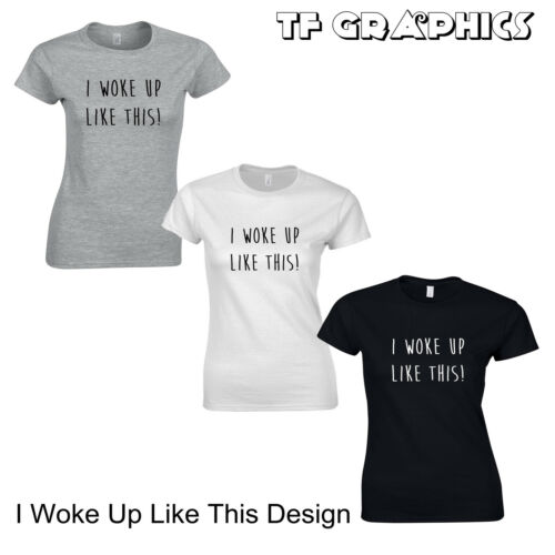 Donna Stampato Slogan T Shirts-SOGAN Divertente T-SHIRT LOVE Unicorno difettosa