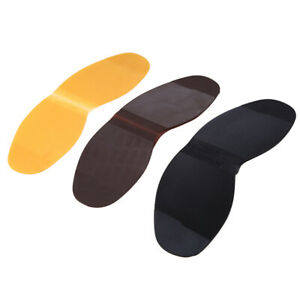Ladies Mens Stick On Soles Anti Slip Repair Shoe Soles Replacements Supplies