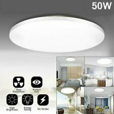 50w Led Surface Mount Fixture Ceiling Light Room Kitchen Round Panel Lights Sup