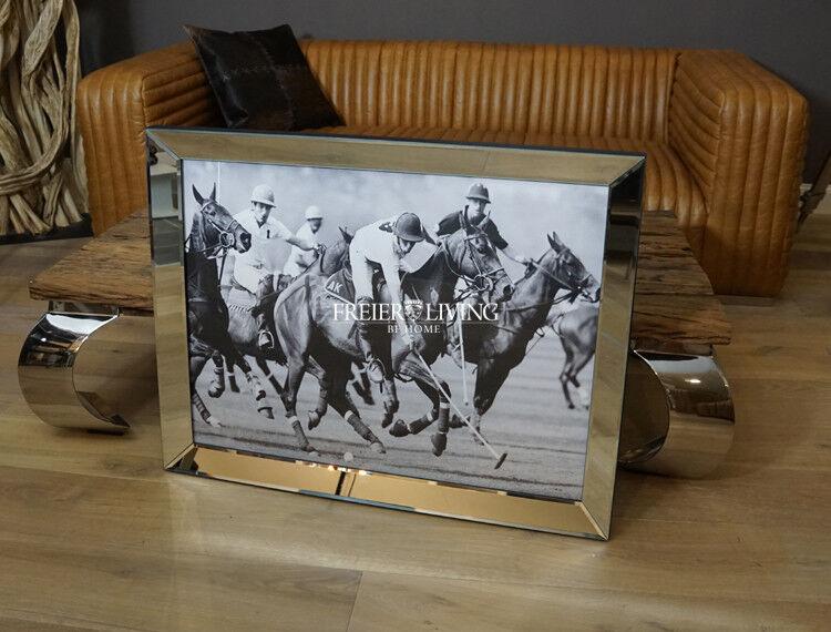 Wandbild Polo Sport Pferde Motiv Motiv Motiv Fan Deko eingerhamt Sport Reitsport Fan Deko b238b5