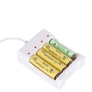 CARGADOR-para-4-PILAS-recargables-Bateria-AA-AAA-USB-coche-casa-oficina-Baterias