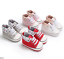 Newborn Baby Boy Girl Pram Shoes Toddler PreWalker Trainers Sneakers 0-18 Months