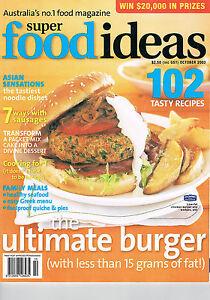 SUPER FOOD IDEAS - Issue 42 - October 2003