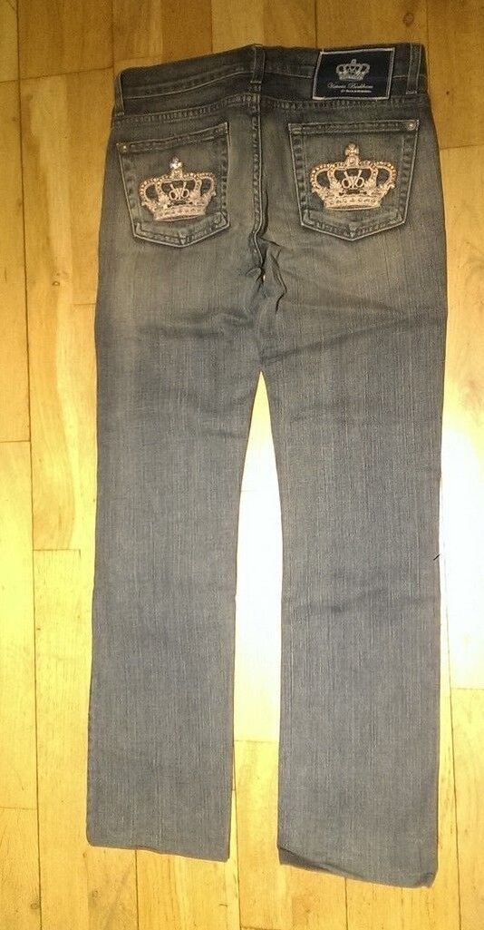 100% Cotton Women's Victoria Beckham Rock & Republic Jeans  Size 27 AA