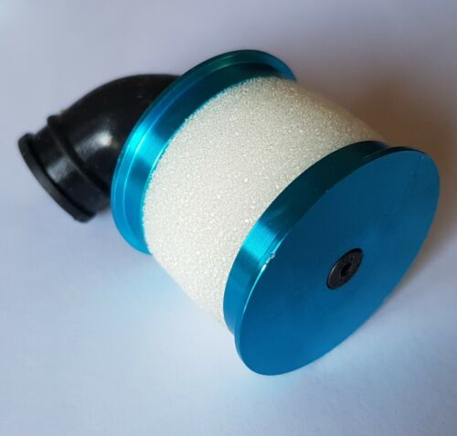 1//10 RC Nitro Air Filter Blue Alloy