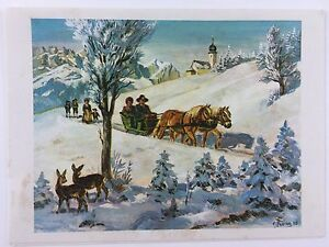 image is loading 1967 vintage used christmas new year greeting card
