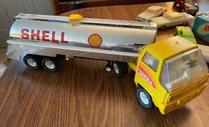 Vintage Tonka Shell Gas Tanker Truck
