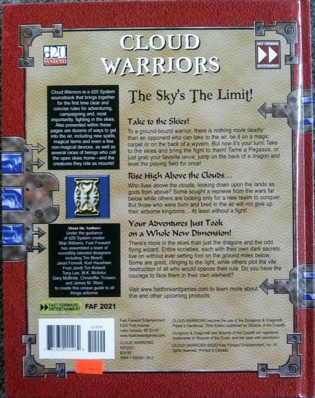 HC d20 Cloud Warriors New