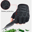 thumbnail 9 - Outdoor Half Finger Gloves Tactical Shooting Gloves Hard Knuckle Army Gloves