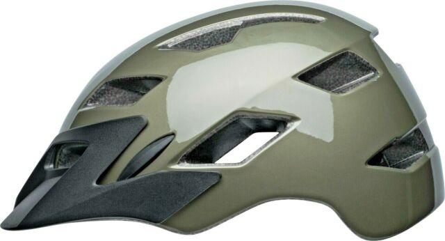 Plastic//foam//fabric Purple//green//gray Bell Bia Bike Helmet Age 14