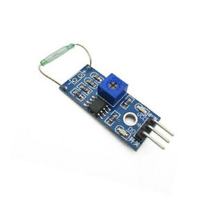 2PCS Reed sensor module magnetron module reed switch MagSwitch Arduino AL