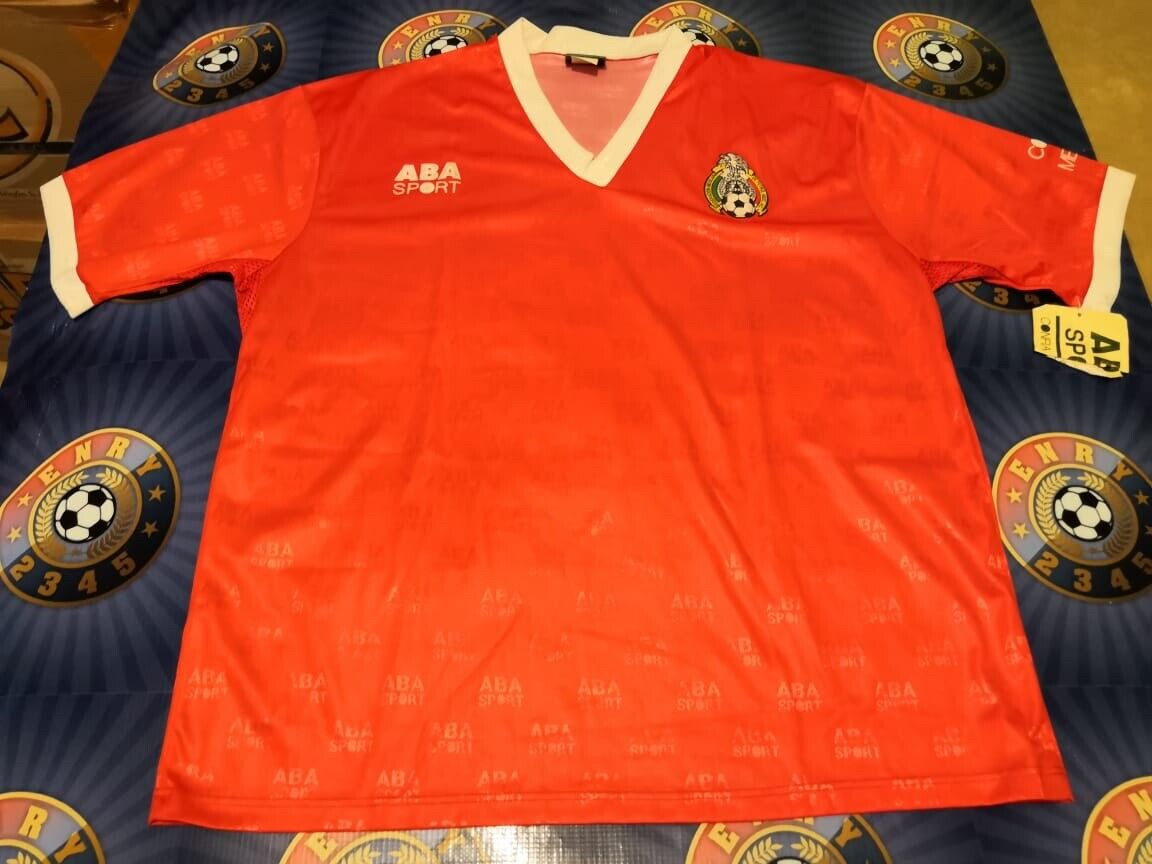 Jersey Vintage Training Mexico Team ABA SPORT