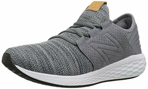 New Balance Men's Cruz V2 Fresh Foam Running shoes, gunmetal, 8 D US