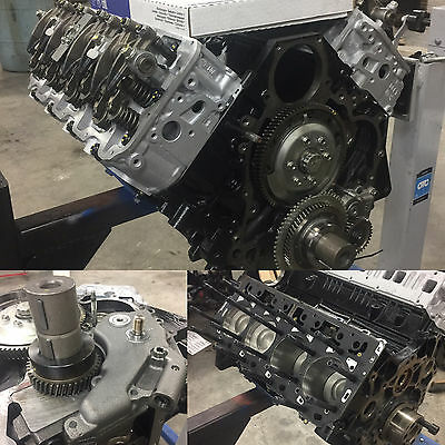 Reman GM Duramax Diesel 6.6 Long Block LB7 Engine - ARP ...