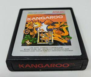 Kangaroo (Atari 2600) Game Cartridge CLEANED & TESTED