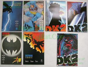 Batman-The-Dark-Knight-Returns-1st-Print-1-2-3-4-amp-DK2-Complete-Key-Mega-Set