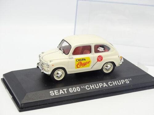 Seat 600 Chupa Chups Ixo Presse 1//43