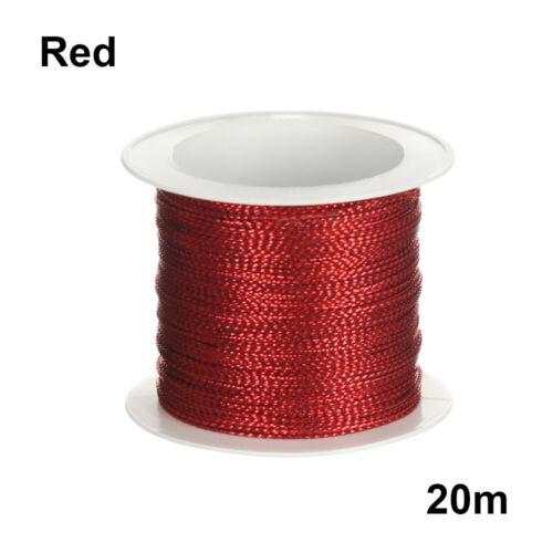 Box Decor Metallic Cord Packaging Thread Tinsel String Christmas Strap Ribbon
