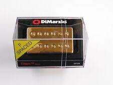 DiMarzio F-spaced Titan Neck Model Humbucker W/Gold Cover DP 258