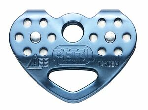 PETZL TANDEM SPEED - Efficient double pulley for travel along ropes and cables