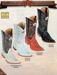 Los Altos Ladies 3X Toe Genuine EEL Pull Up Cowboy Western Boots