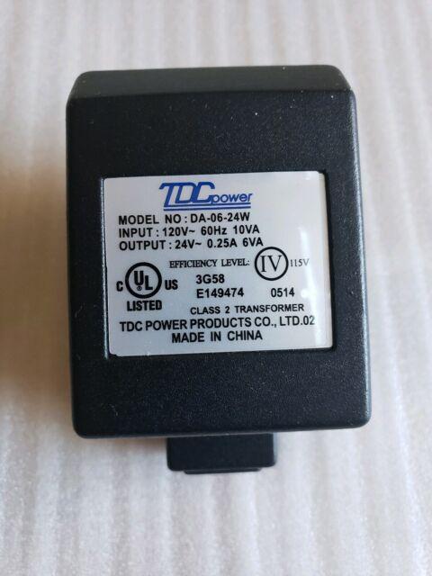 TDC DA-06-12W Class 2 Transformer Power Supply 120VAC//60Hz Led Landscape Lights