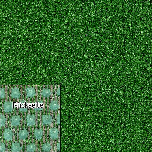 Rasenteppich Kunstrasen Tuft Drainage 10 mm 200x400 cm grün Exklusiv