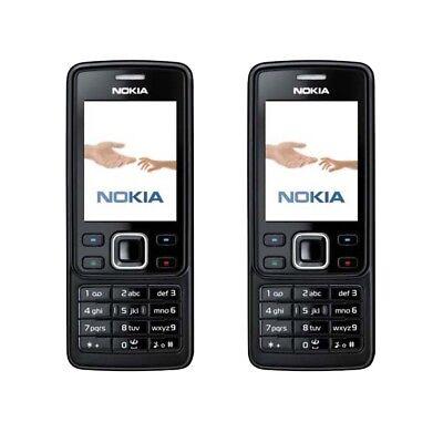 Black Nokia 6300 Bluetooth MP3 Original Unlocked Bar 2MP Hebrew Mobile Cellphone