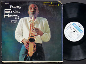 ERNIE-HENRY-Presenting-LP-RIVERSIDE-RLP-12-222-US-1956-DG-MONO-JAZZ-Kenny-Dorham