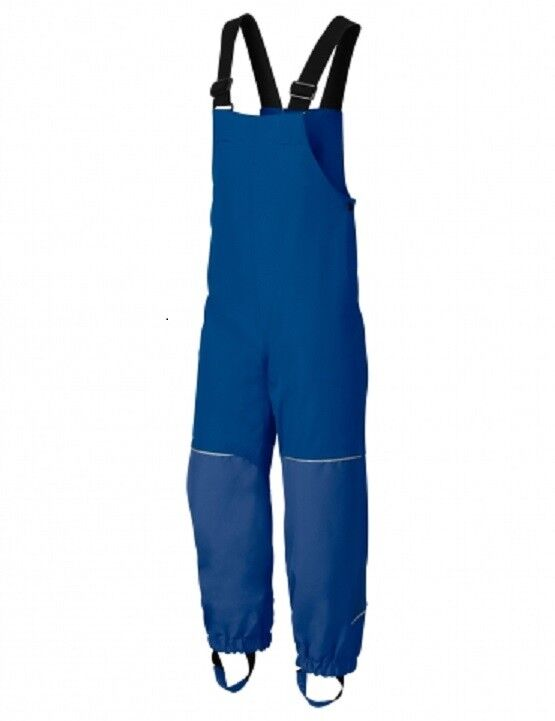 Vaude Regenhose Kids rot Owl Pants II Farbe.  hydro Blau Gr.  110 116