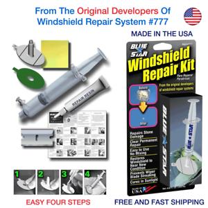 WINDSHIELD-REPAIR-KIT-2PACK-STONE-DAMAGE-CHIP-BULLSEYE-ROCK-CHIP-MODEL-777