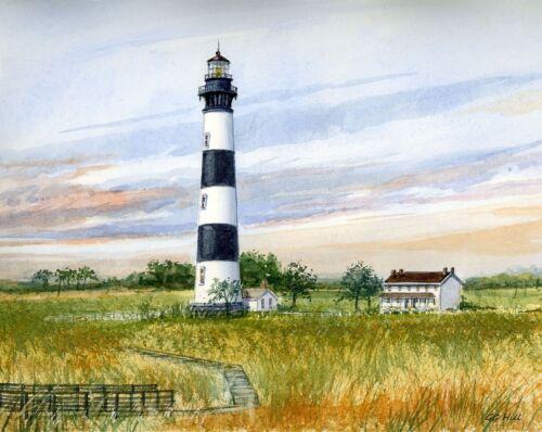 Bodie Island Lighthouse Salt Marsh Outer Banks North Carolina Gerald Hill Prints