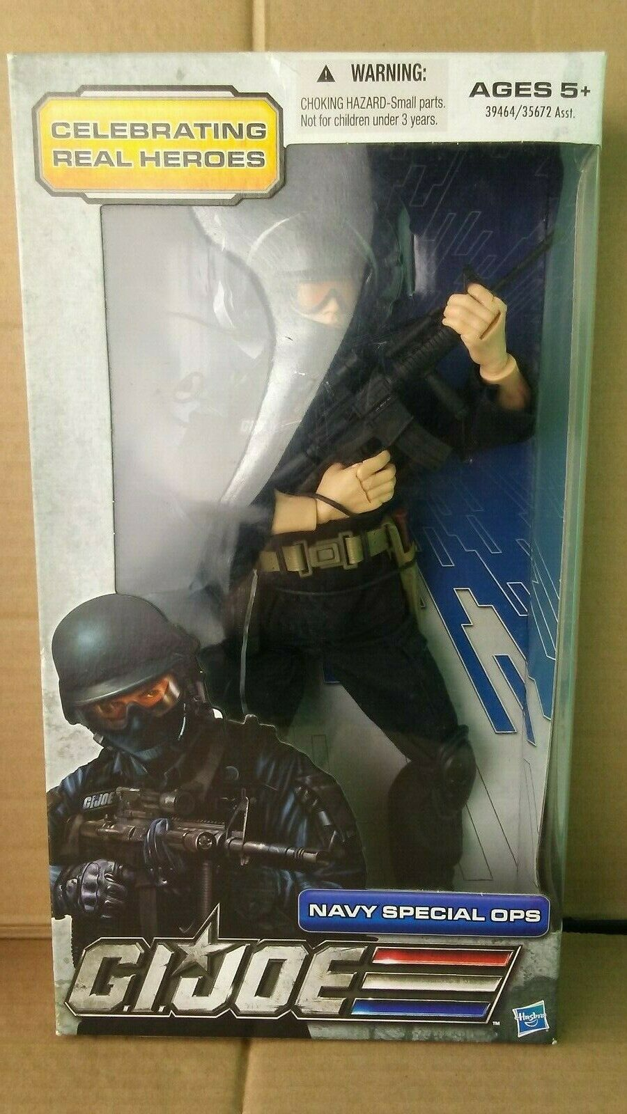 HASBRO G.I. JOE  NAVY SPECIAL OPS 12  TALL HIGHLY DETAILED ACTION FIGURE