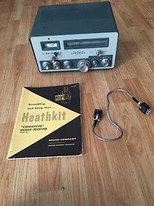 heathkit receiver mr 1 commanche with manual cable ham radio ebay rh ebay com Ham Radio Equipment Used Ham Radio Equipment Used