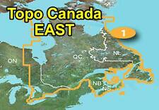 Garmin TOPO Canada v4 EAST Quebec Newfoundland Atlantic