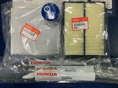 2015-2019 TLX V6 Inserts and Oil Filter Filters Acura OEM Service Kit