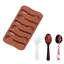Silicone Baking Tool Chocolate Cake Mold Spoon Shape Cookie Candy Jelly Mould H